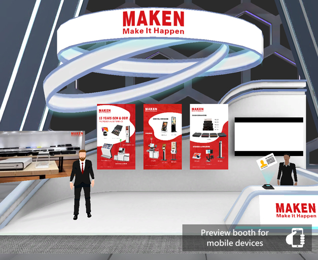 MAKEN New Arrival is Coming!   Welcome to Visit Our Booth